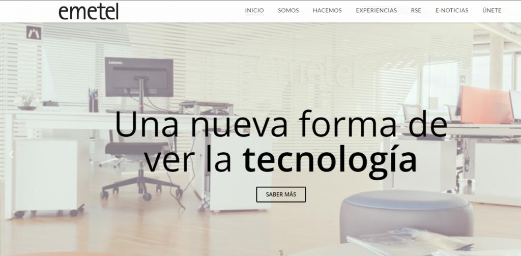 Nuevos horizontes, nueva página web